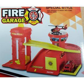 Záchránná hasičská stanice pro auta Fire