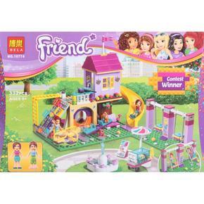 Stavebnice - Bella a její hrací hřiště 332 dílků