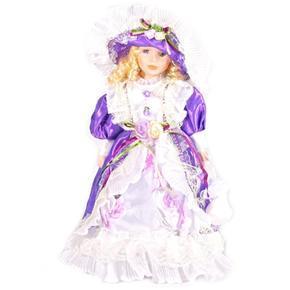 DOLL porcelánová panenka Luiss 40 cm