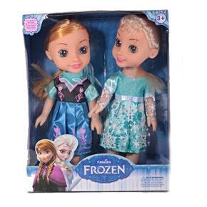 Sada zpívacích panenek Anna a Elsa