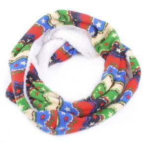 Módní zimní šátek Holly modrý