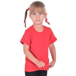 Červené detské tričko krátky rukáv Laura od 122-146