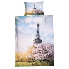 3D obliečky motív Eiffelova veža