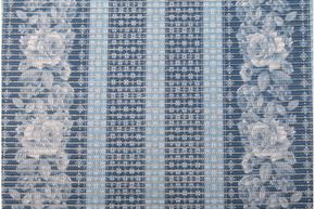 Gumová kúpeľňové rohože 65cm Kytky