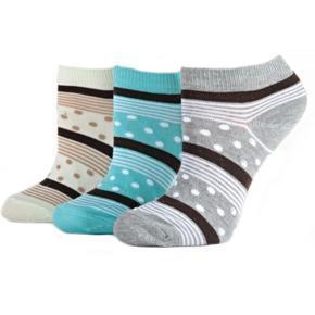 Vzorované kotníkové ponožky M5c M 31-35