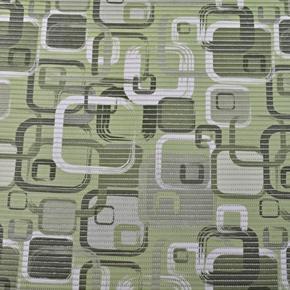 Gumová kúpeľňové rohože 80 cm Kocka zelená