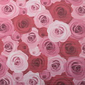 Gumová kúpeľňové rohože 65cm Ruže