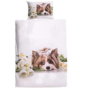 3D obliečky s roztomilým psíkom