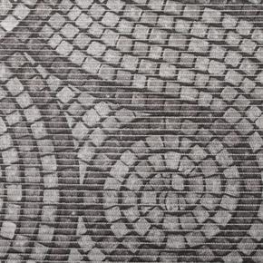 Gumová koupelnova rohož 65cm Dlažba