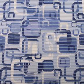 Gumová kúpeľňové rohože 80 cm Kostka modrá