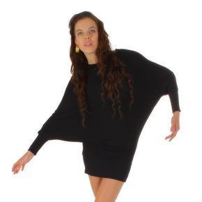 Moderná čierna tunika Rita