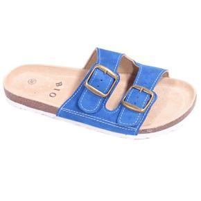 Dámské korkové pantofle Alice modré