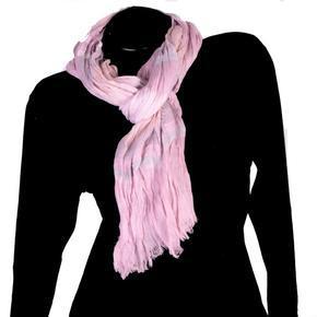 Moderní šátek Lilia růžový