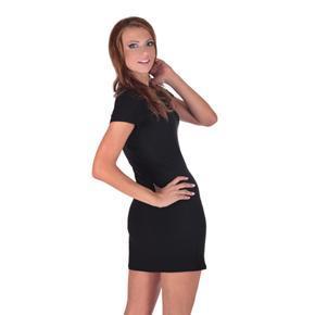 Decentné čierne šaty Nagel
