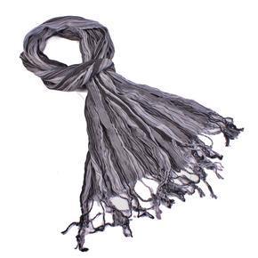 Slabý šátek Helen šedý