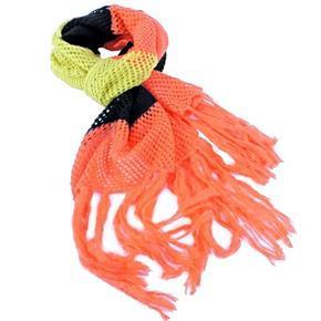 Oranžová pletená šála Irina
