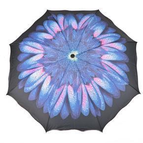 Skladací dámský deštník Simona modrý