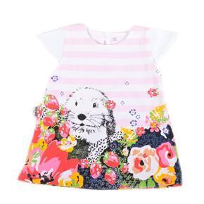 Dívčí letní šatičky Michel růžové