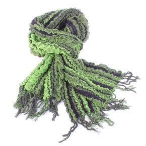 Luxusní šátek Karolin zelený