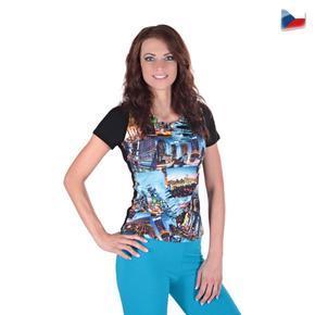 Dievčenské tričko Baily s moderným potlačou