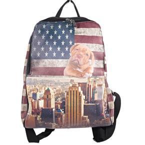 Štýlový batoh Natálie motív Amerika 2A