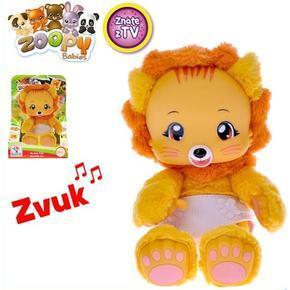 Zoopy babies plyšový Lvíček 24cm