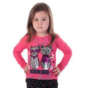 Růžové měnící tričko Darina