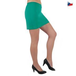 Tmavo zelená sukne Ashly