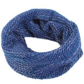Hřejivá dámská kukla Irene modrá