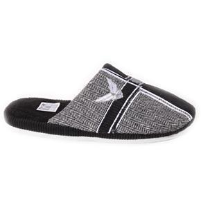 Pánske čierne papuče Reny