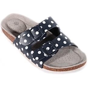 Retro dámske papuče Leny modré