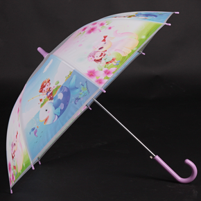 Detský vystreľovací dáždnik Tim fialový