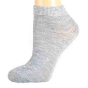 Dámské kotníkové ponožky A3c šedé