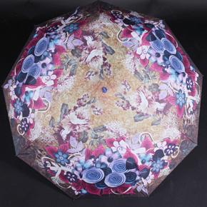 Skladací dámsky dáždnik Megan fialový