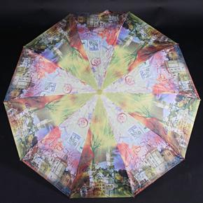 Dámsky skladací dáždnik Aura svetlo zelený