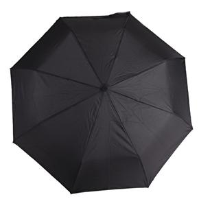 Pánsky skladací čierny dáždnik Mateo