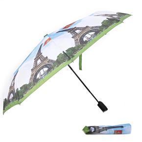 Malý skladací dáždnik Miles motív Eiffelova veža