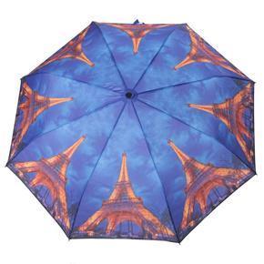 Malý skladací dáždnik Robert motív Eiffelova veža