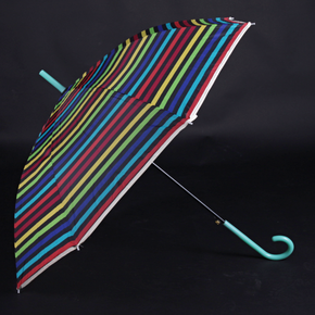 Pruhovaný dáždnik Dora zelený