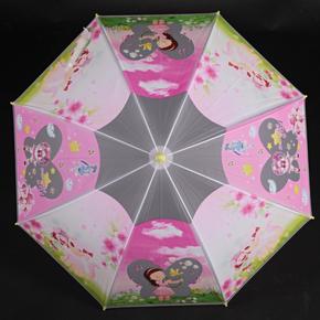 Detský vystreľovací dáždnik Tim žltý