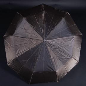 Luxusný dámsky skladací dáždnik Kim tmavohnedý
