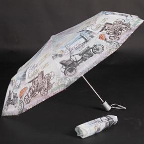 Štýlový skladací dáždnik Cars farebný