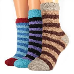 Zdravotní zimní termo ponožky A2b hnědé 35-38