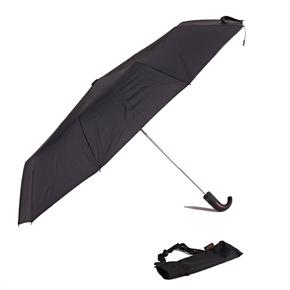 Luxusný pánsky čierny dáždnik Pietro