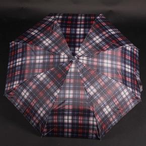 Pánsky skladací dáždnik Alan červený