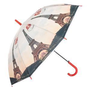 Dámsky červený dáždnik Felix