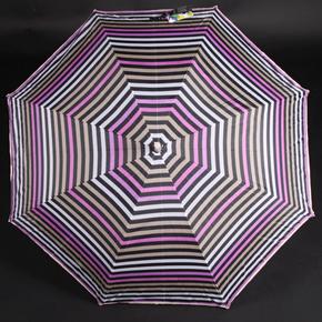 Pruhovaný dáždnik Dora hnedý