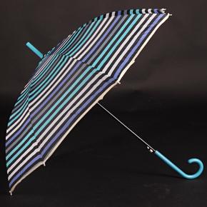 Pruhovaný dáždnik Dora modrý