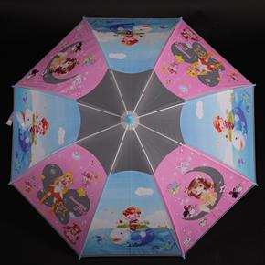 Detský vystreľovací dáždnik Tim modrý