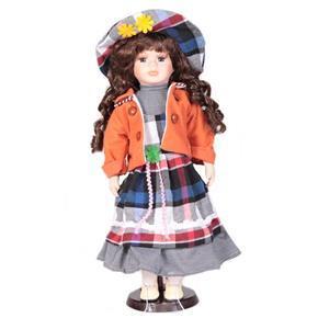 DOLL porcelánová panenka Andrea 40 cm